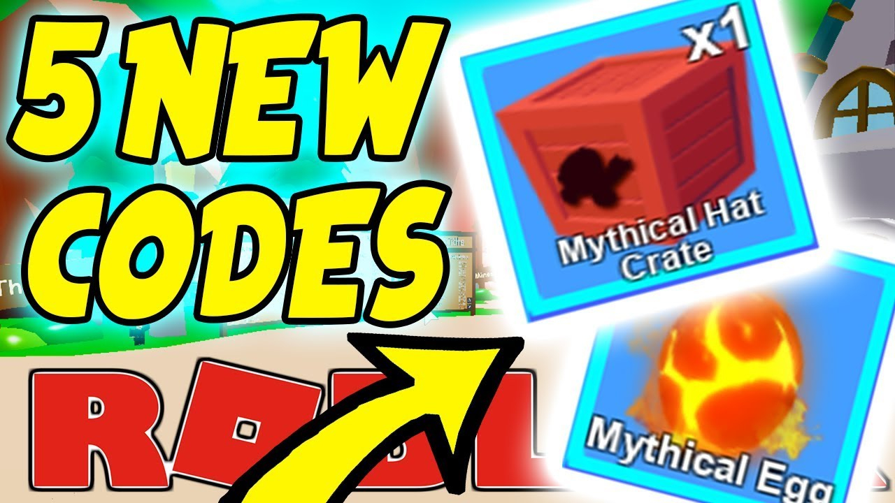 All 5 New Codes For Mining Simulator - Mythical Crate/ Egg Update Roblox