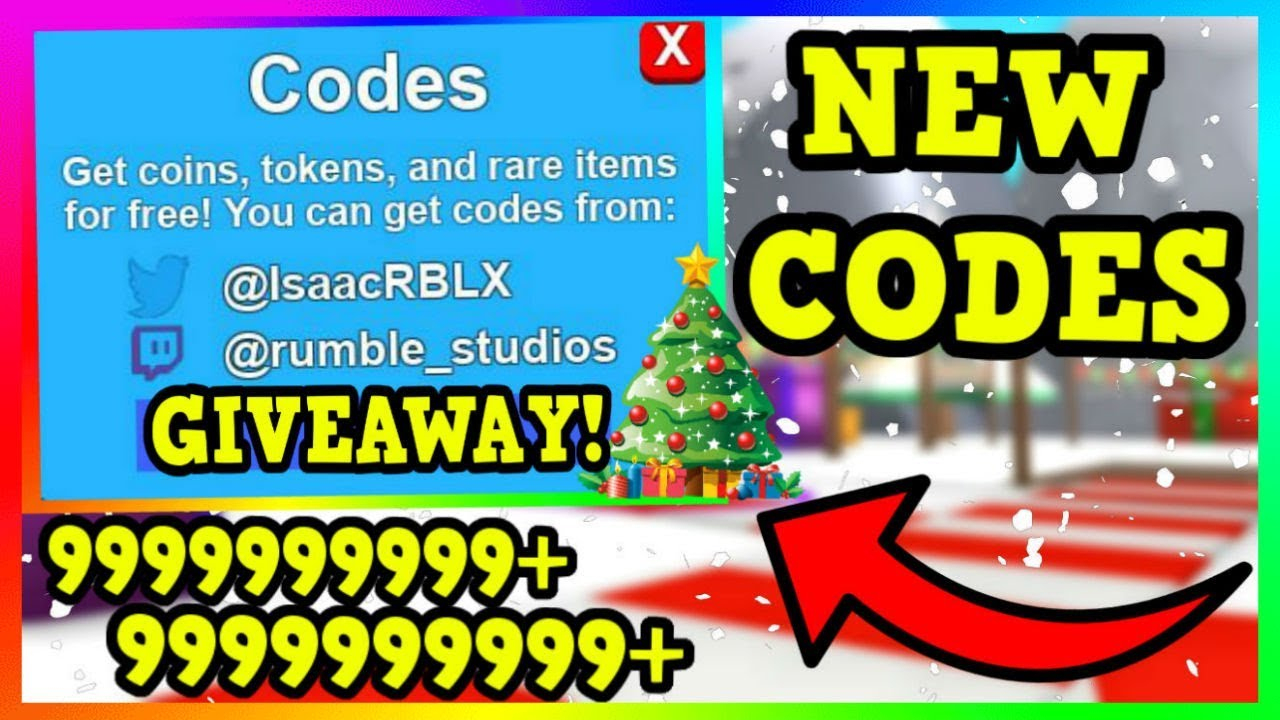 All New Christmas Codes In Mining Simulator