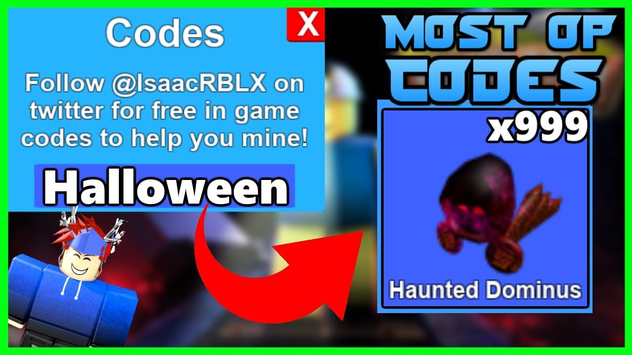 🎃 Mining Simulator - Most Op Halloween Codes (2018) 🎃