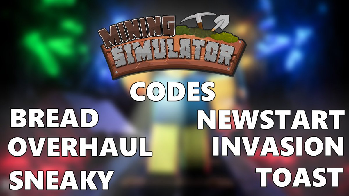 "Isaac On Twitter: ""some New Mining Simulator Codes You Have"