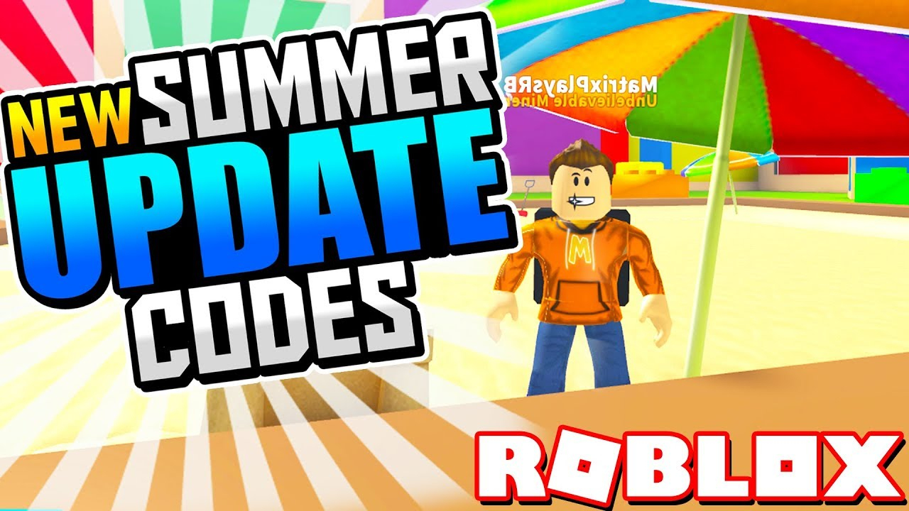 * New Codes!* Summer Update Codes For Mining Simulator! (Roblox)