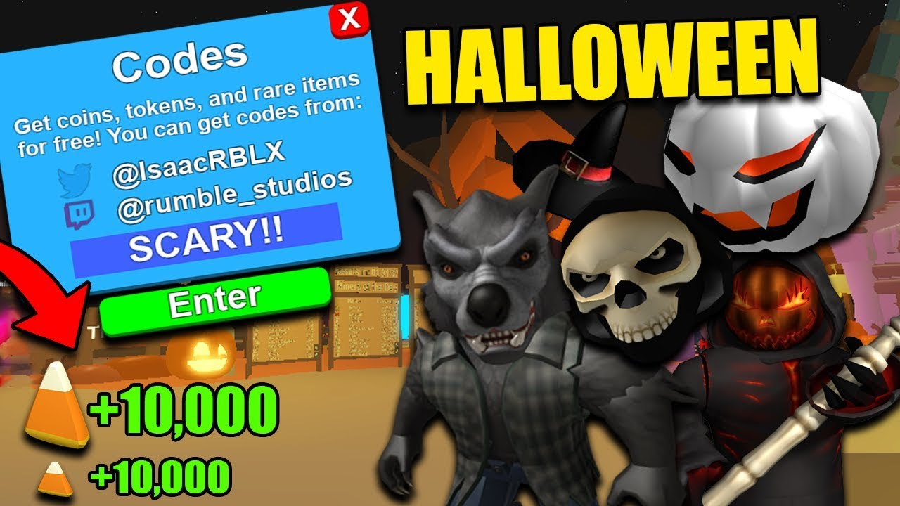 *new* Mining Simulator Update And Codes 2018 (Halloween Update)*free Candy  Corn*|Roblox