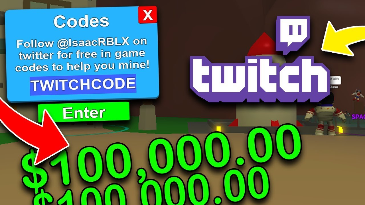 *new* Twitch Codes In Mining Simulator 2018 *overpowered*|Roblox Simulator  2018
