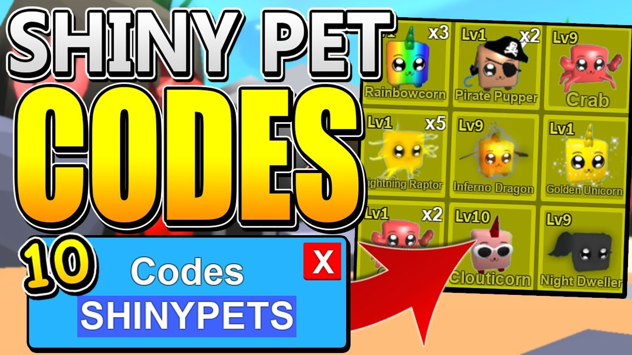 10 Mythical Shiny Pet Codes In Roblox Mining Simulator!