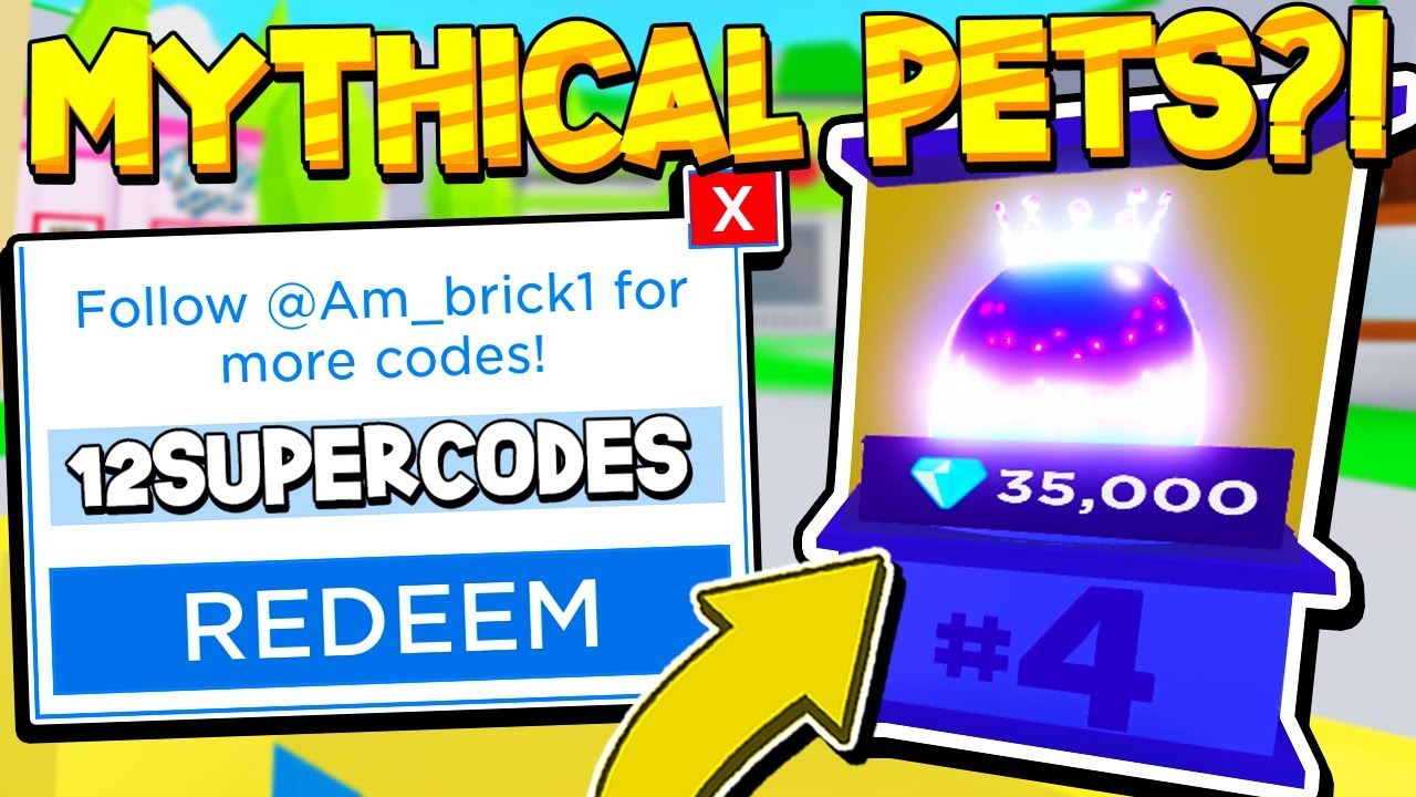 12 Mythical Pet Update Codes In Om Nom Simulator! Roblox