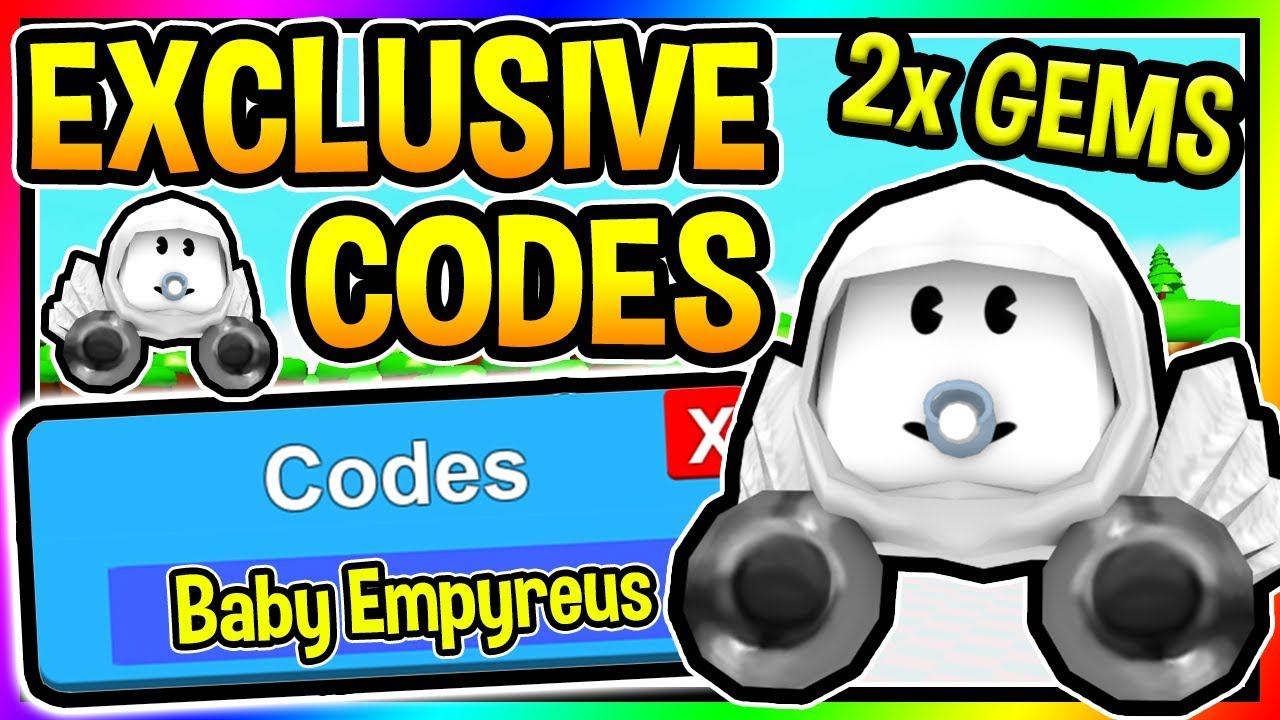 All 7 New Baby Simulator Codes - Baby Dominus Empyreus Pet   Roblox
