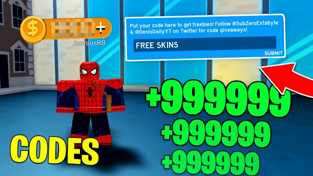 All *working* Codes In Superhero Simulator! (Roblox)