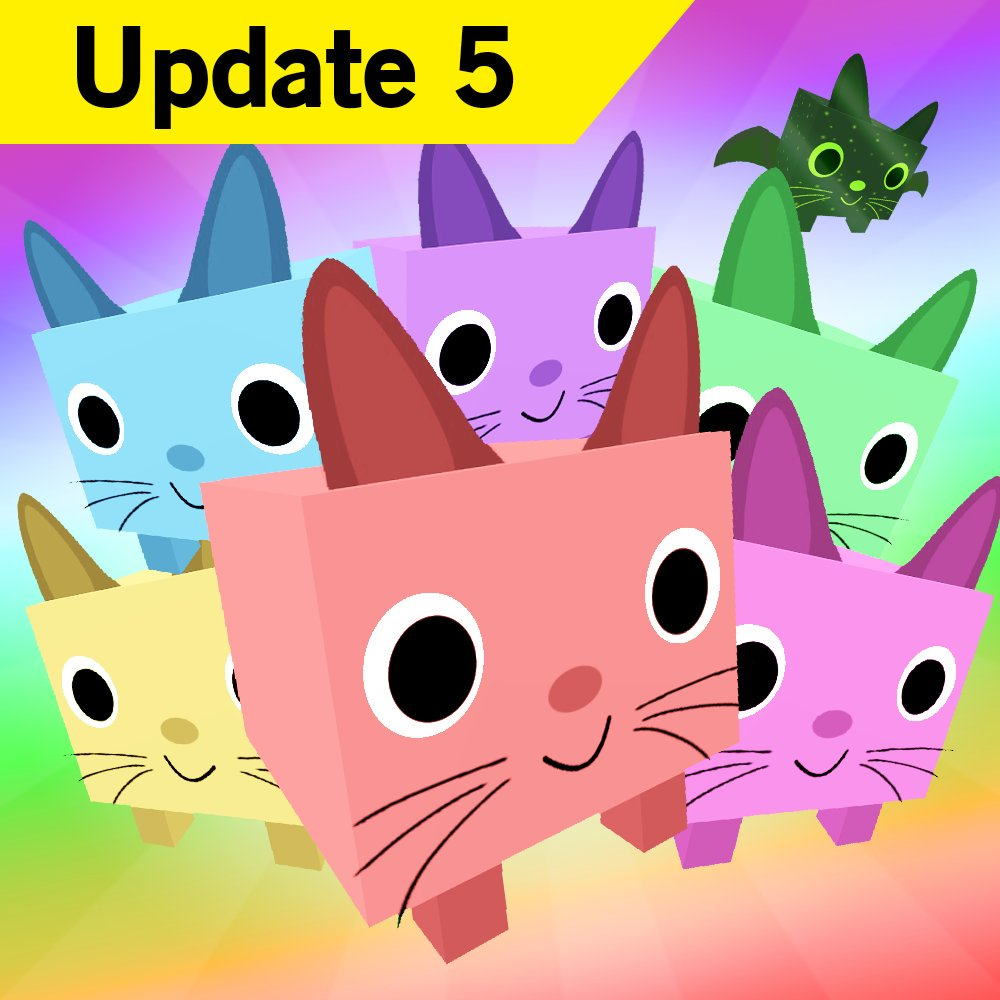 """Big Games On Twitter: """"pet Simulator Update 5 Is Out"""