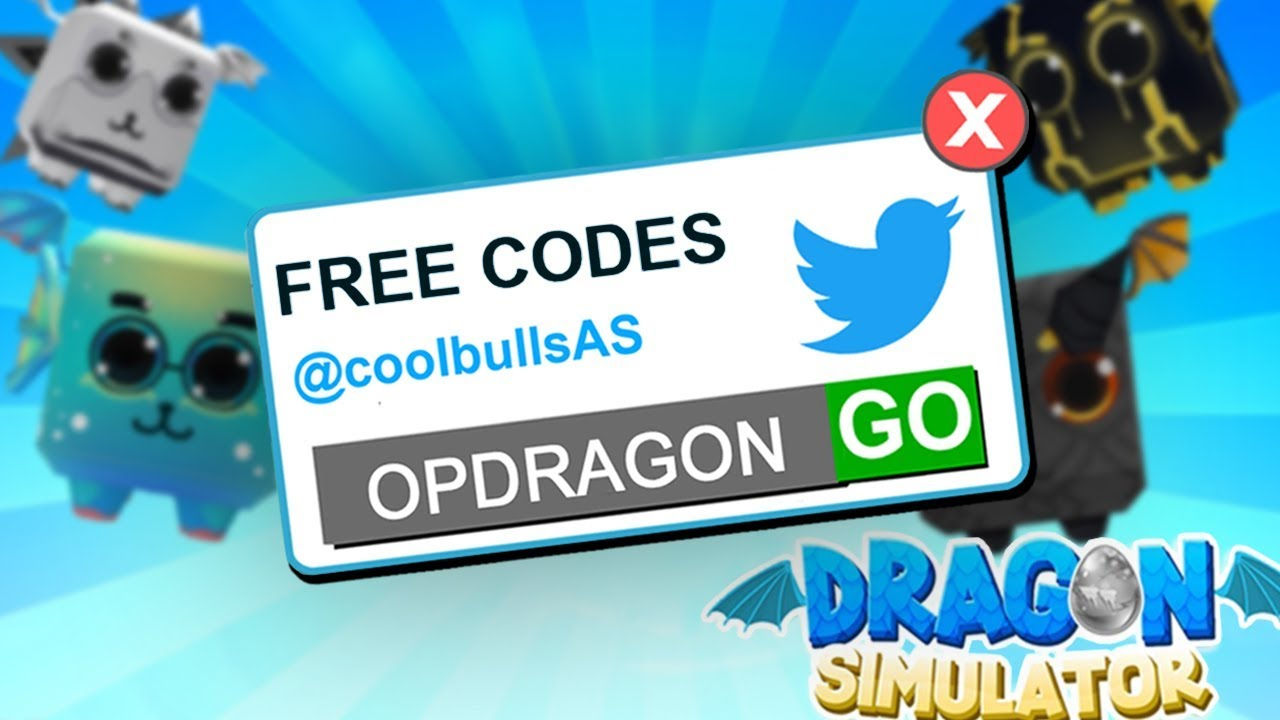 Every Working Code In Dragon Simulator (Roblox)