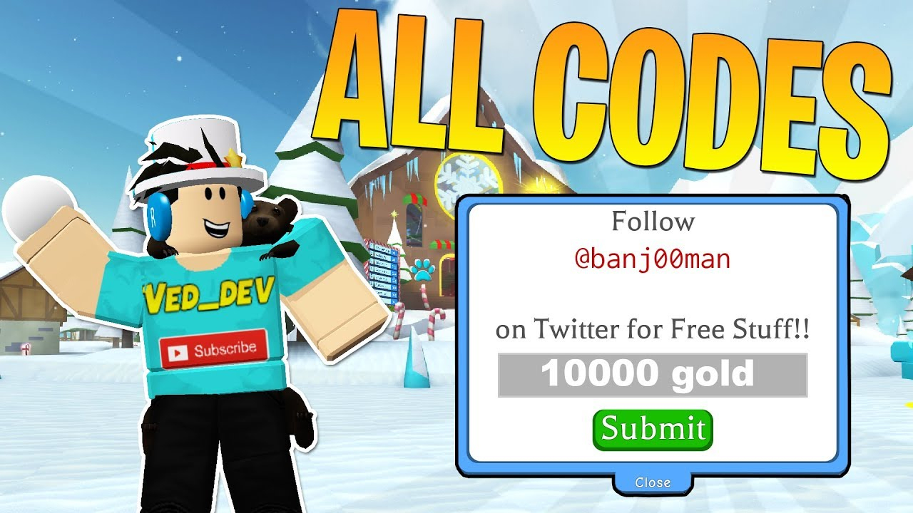 All Codes In Snowman Simulator! (Roblox)