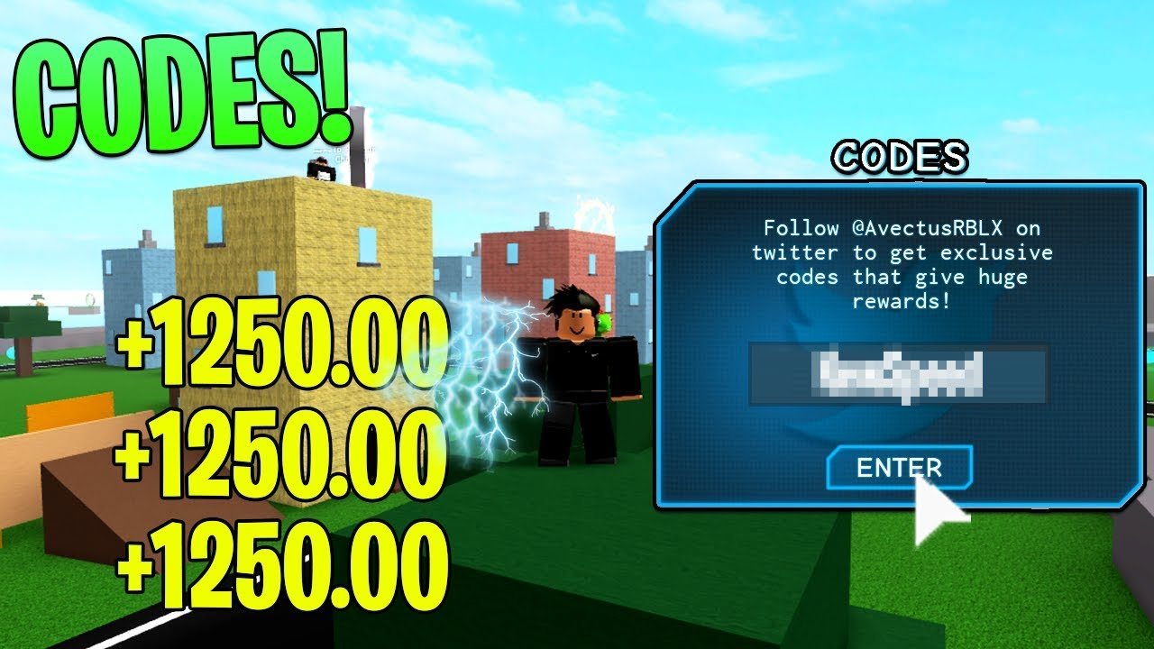 Roblox Speed Simulator 2 Twitter Codes!