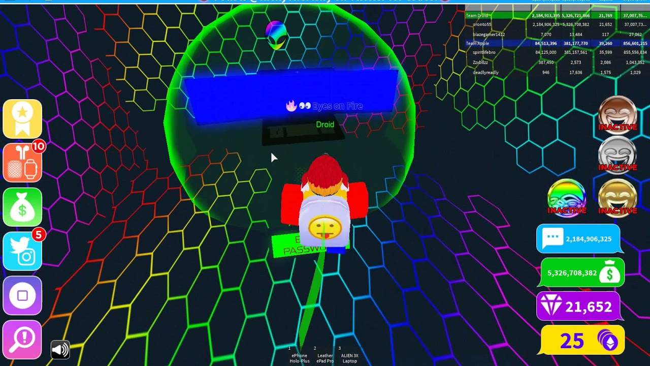 Roblox Texting Simulator How To Get Alien Computer (Code In Commends If Too  Blurry)