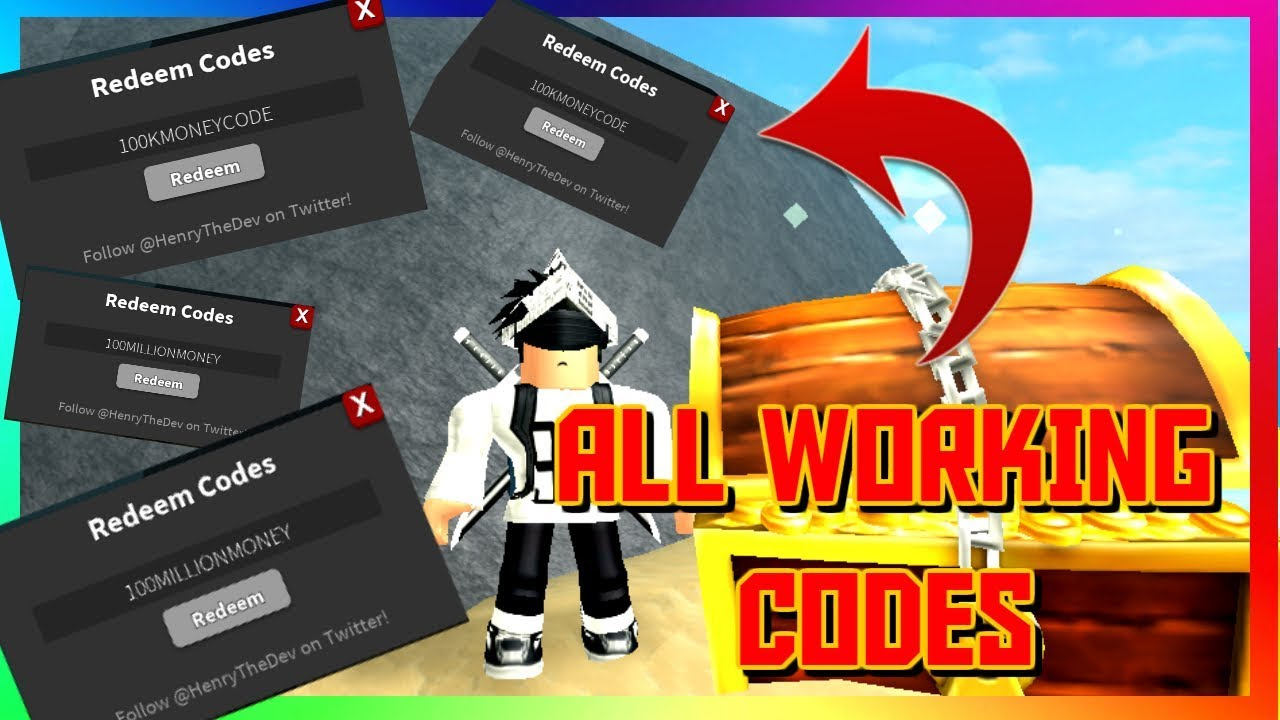 All 2018 Working Codes In Treasure Hunt Simulator