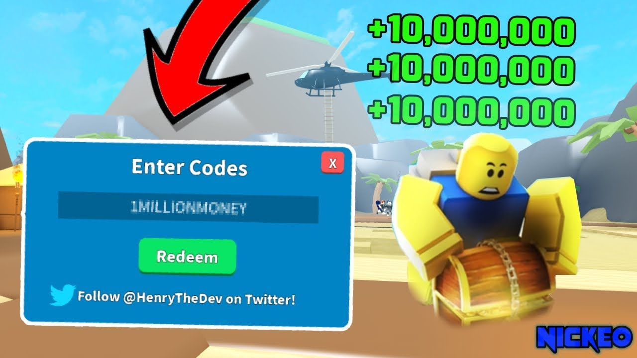 All 2019 Working Codes In Treasure Hunt Simulator! (Roblox)