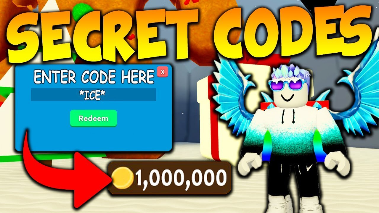 Secret Christmas Codes In Roblox Treasure Hunt Simulator
