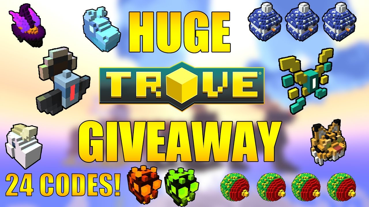 Huge Trove Giveaway (Closed) - Trove Wings, Mounts, Costumes, Codes  Giveaway 2016/2017