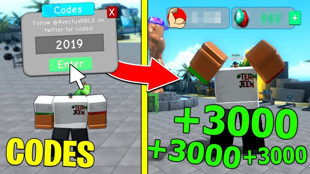 All *working* Codes In Weight Lifting Simulator 3! 2019 (Roblox)