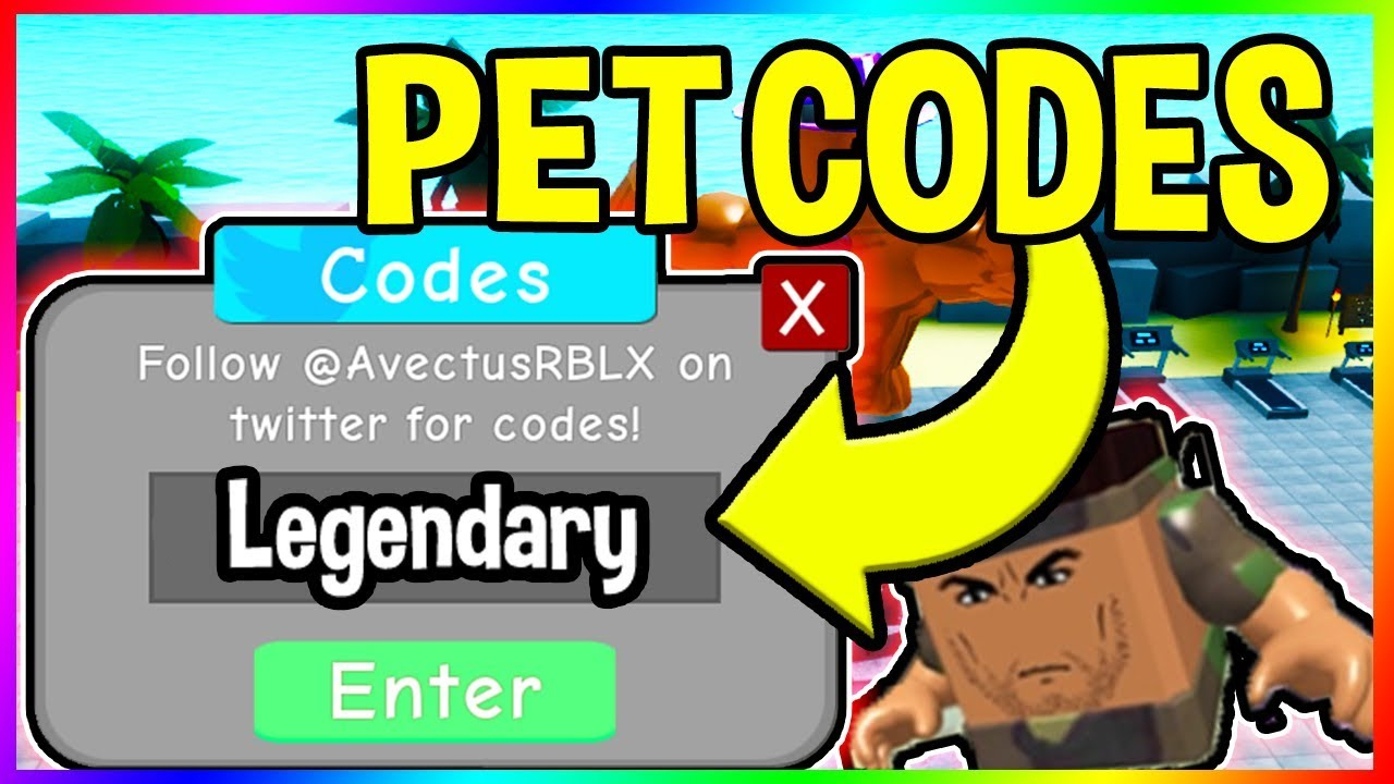New Pet Update Codes In Weight Lifting Simulator 3 Roblox